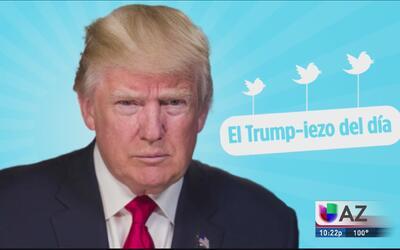 El Trump-iezo del día: El presidente festeja su victoria ante la Suprema...