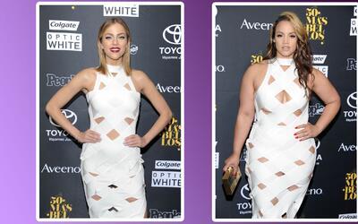 Fashionometro: A Daniela Di Giacomo le copiaron el vestido