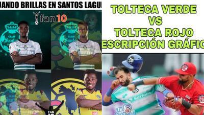 Memes del partido de ida entre Santos y Toluca por la final del Clausura 2018
