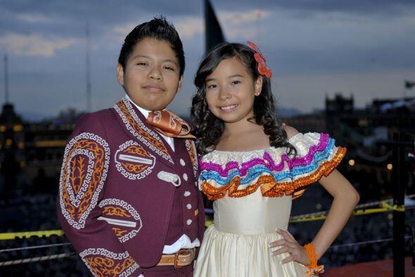 Los pequeños hablaron de su orgullo de ser mexicano.
