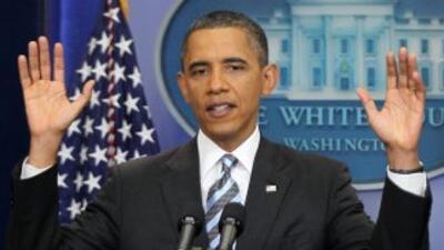 El presidente Obama tiene en su agenda reunirse con miembros del Senado...