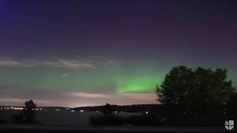 La hermosa aurora boreal que te hace amar al planeta en segundos