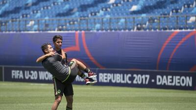 El buen ambiente de México en Corea del Sur antes de su debut en el Mundial Sub-20