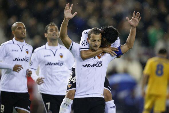 Valencia no pasó apuros en Mestalla y volvió a infringirle una goleada a...