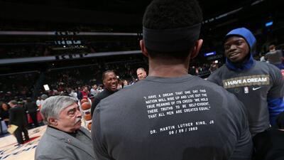 Carrusel NBA: celebrando el Martin Luther King Day en la duela