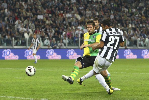 Y es que esta Jornada se visitó de héroe por los dos goles que le marcó...