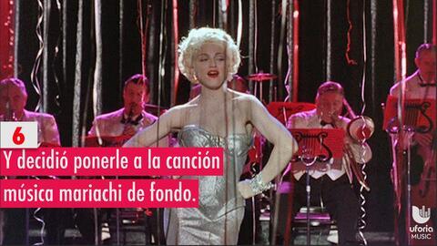 7 Veces que Madonna quiso ser latina