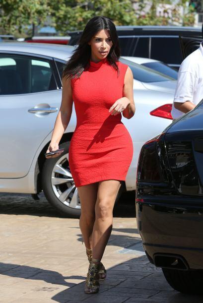 Kim Kardashian siempre se ha caracterizado por ser una mujer con curvas...