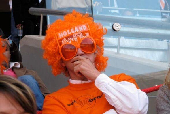 Pero los visitantes, como este holandés, están disfrutando incluso más q...