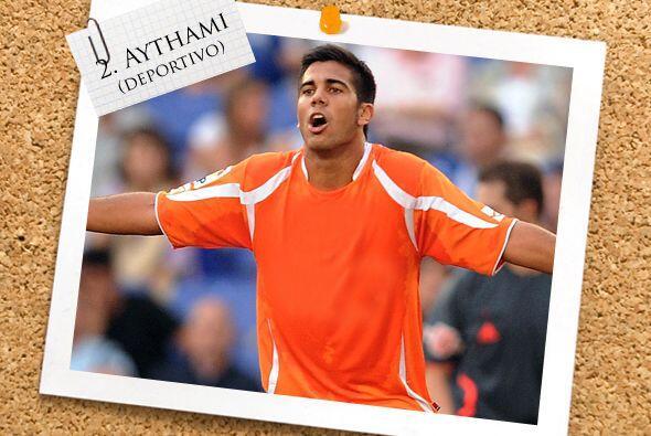 Comenzando en la defensa, Aythami Artiles Oliva cumplió en la zaga del D...
