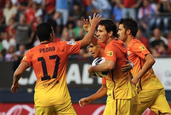 El mediocampista argentinó marcó dos goles ante el Osasuna.