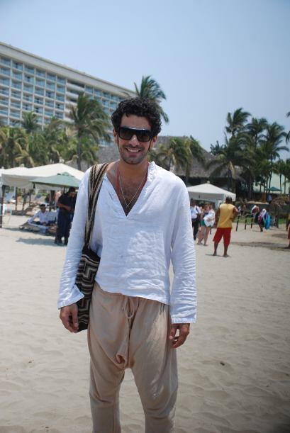 """El actor de """"La Mujer del Vendaval"""" desató pasiones en Acapulco."""