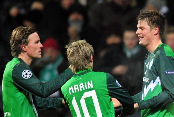 Sebastian selló la victoria de su equipo el Werder Bremen al aplastar 3...