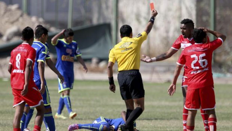 Acciones del partido entre Sporting Cristal vs. San Simón.