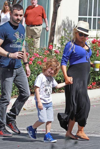 Matt RutlerSerá el papá del segundo hijo de la cantante Christina Aguile...