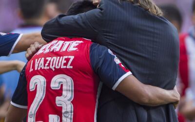 José Juan 'Gallito' Vázquez se marchó de Chivas