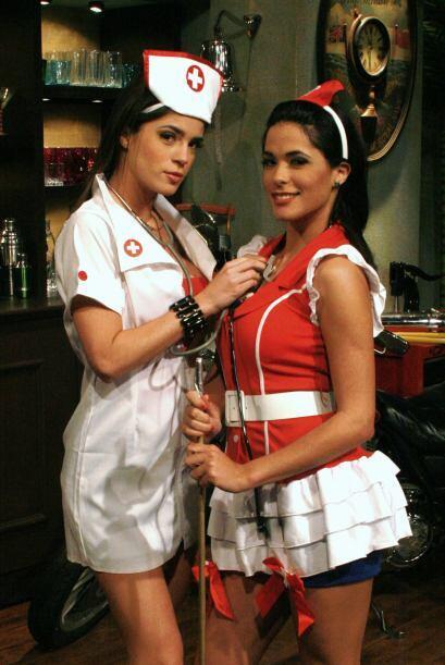 Mi Vida y Mi Amor lucieron muy guapas con sus disfraces de 'Doctoras Cor...