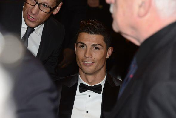 Cristiano Ronaldo, de los hombres que más reflectores acapararon, con el...