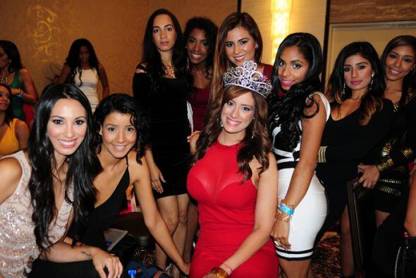 Aleyda Ortiz compartió con las chicas que audicionaron en Nueva York par...