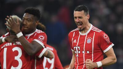 Bayern pasa del susto a la goleada ante el Hoffenheim