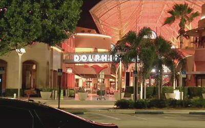 El centro comercial Dolphin reabre sus puertas tras confuso incidente qu...