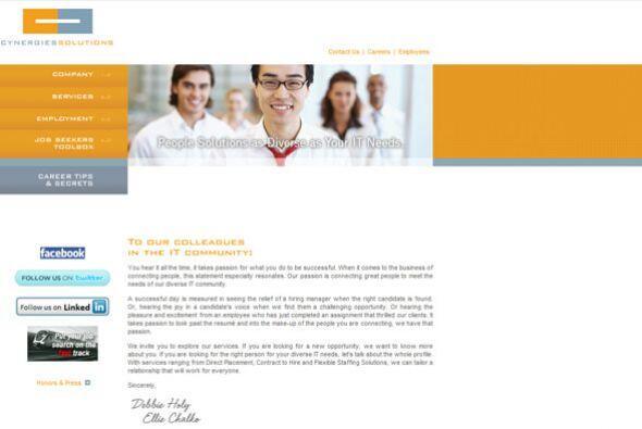 5. CYNERGIES SOLUTIONS GROUP   Sector de la industria: Dotación de perso...