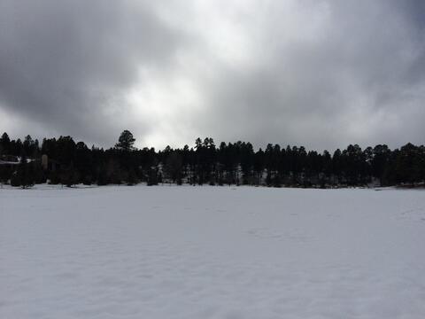 ¡De blanco se viste el Norte de Arizona!