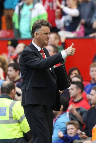 Van Gaal aprobó el gesto del 'Bad Boy' y hasta levantó el pulgar tras co...