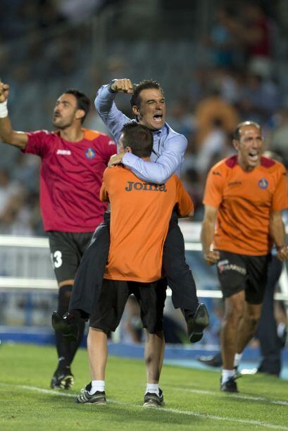 Abdelaziz Barrada ponía el 2-1 tras un contragolpe perfecto con el que v...