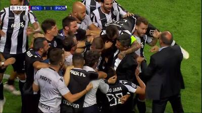 ¡GOOOL! Amr Warda anota para PAOK Salonika