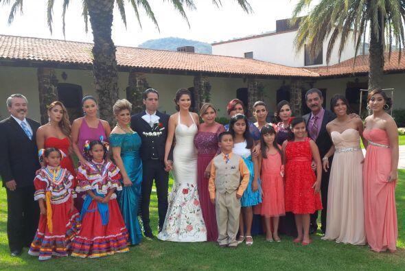 La mejor foto: dos familias unidas por la felicidad de sus hijos Ana Pat...