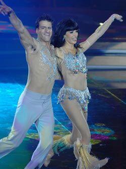 Los argentinos bailaron muy bien la samba.