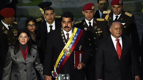 Maduro envía nota de protesta a Washington por supuesto espionaje a Pdvs...