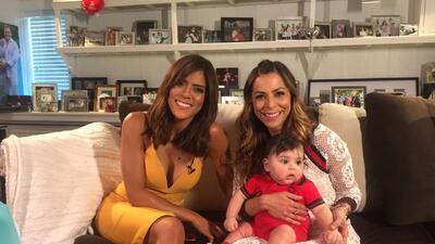 Francisca Lachapel conoció al pequeño MVP en su entrevista con Lourdes Stephen