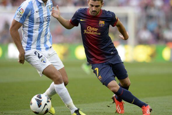 Barcelona recibió al Málaga en el Camp Nou en el úl...