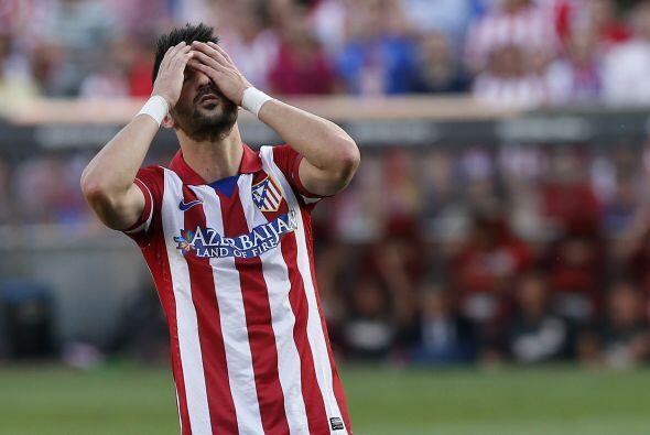 Málaga se iba arriba en el marcador y el Atlético pasaba apuros para igu...