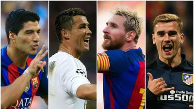 Las figuras a seguir en la Champions League