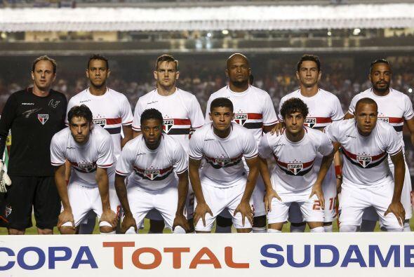 En la décima posición se encuentra el equipo de Sao Paulo, con un valor...