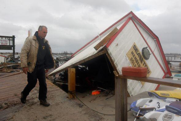 Limpieza daños Sandy 2
