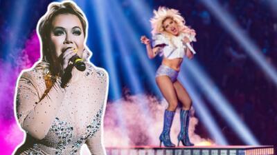 Como nunca lo hizo Jenni Rivera: Chiquis entra al escenario al estilo Lady Gaga