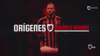 Orígenes de Gonzalo Higuaín: el camino de un goleador que se ha consagrado en Italia