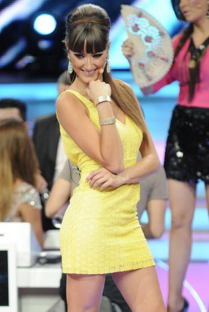 Raquel tiene un excelente y refinado estilo a la hora de vestir.