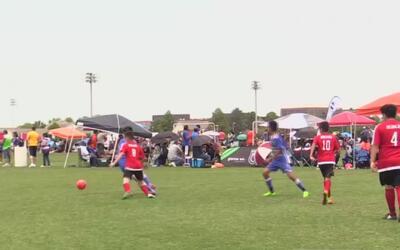 Familia, amigos y fútbol: así ha sido la jornada de la Copa Univision