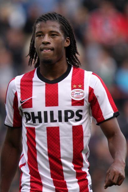 El jugador 'tulipán' marcó doblete en el cotejo del PSV contra Heerenveen.
