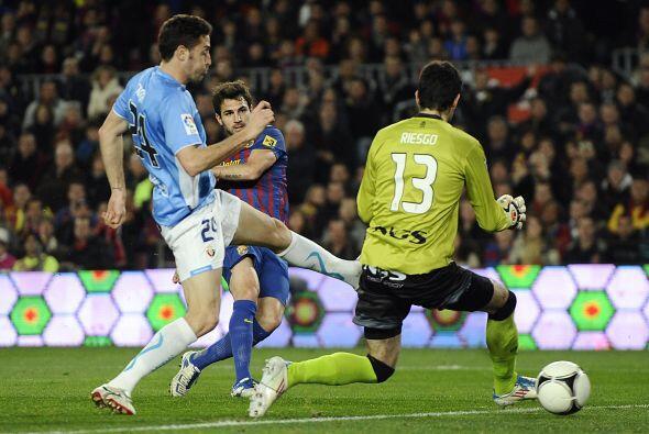 Para los Octavos de Final, los 'blaugranas' enfrentaron en el Camp Nou a...