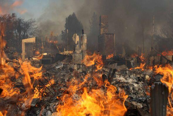30 estructuras completamente destruidas es hasta ahora el conteo de da&n...