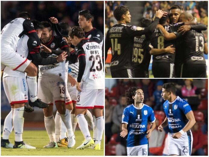 Triunfos de Querétaro, Lobos y Monterrey en la jornada de Copa MX untitl...