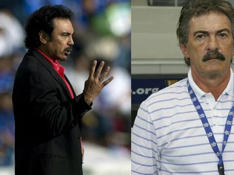 Hugo Sánchez Vs. Lavolpe. Hugo Sánchez y Lavolpe tienen un...