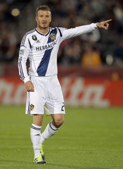 Cuando David Beckham no trae puesto el uniforme o anda corriendo sin pla...