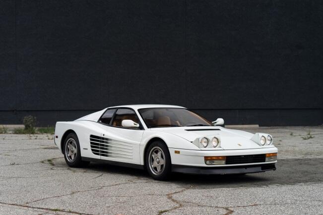 """El Ferrari Testarossa apareció en la película """"Straight Dutta Compton"""""""